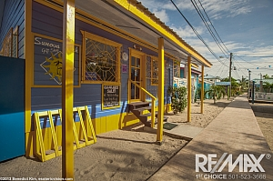Placencia Village Sidewalk