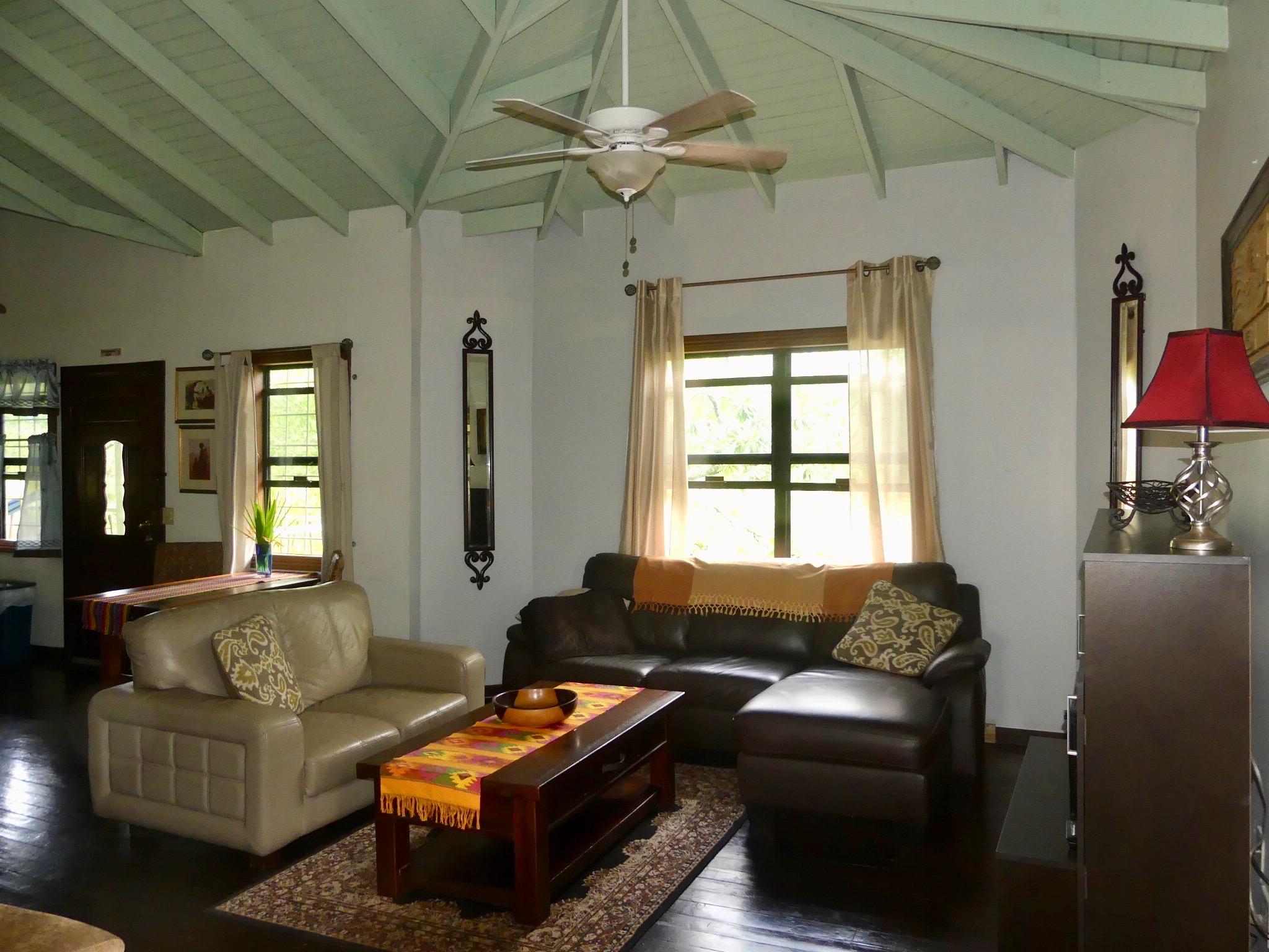 Upper Level: Living Room