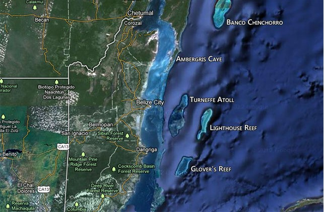 RE/MAX real estate, Belize, Belize City, Turneffe Flats sea to lagoon