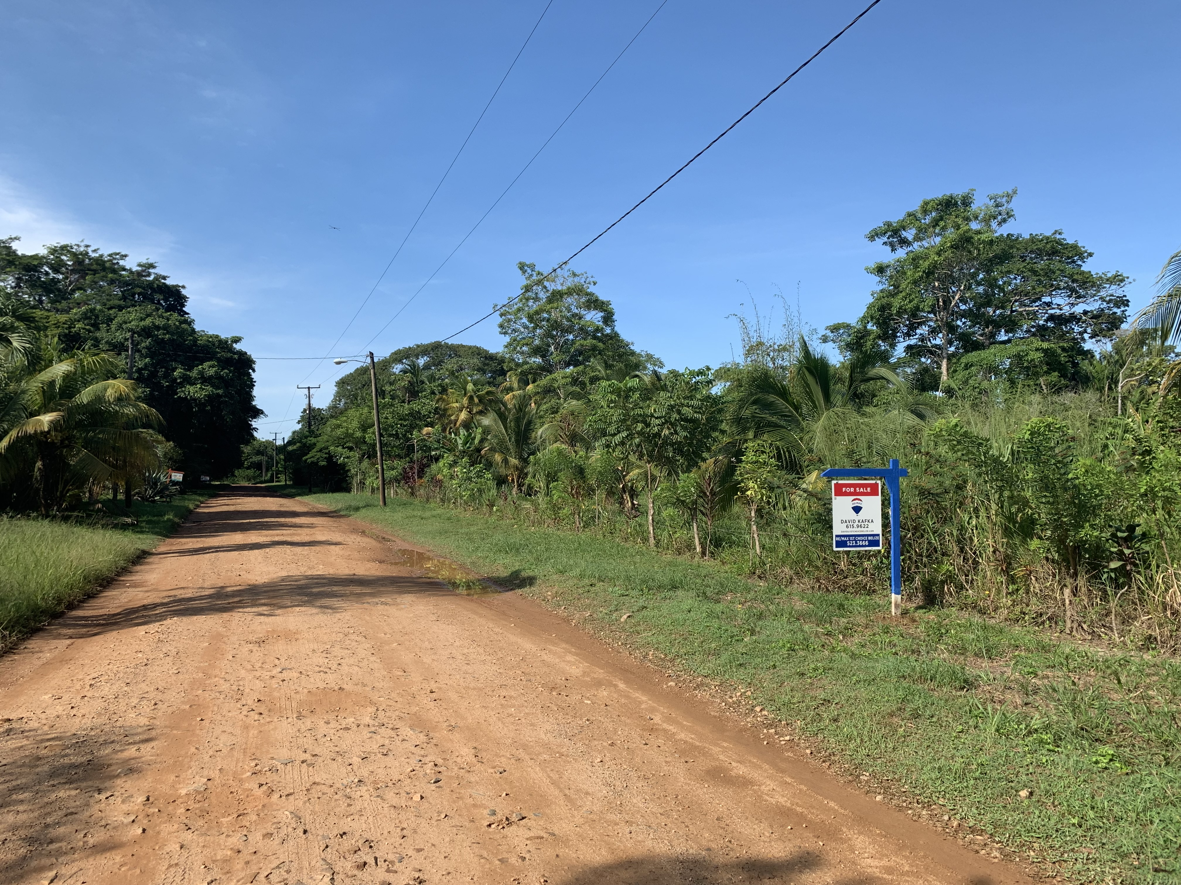 Remax real estate, Belize, Sittee River, 3 Acres with River View in Sittee River Village