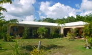 WATER FRONT HOUSE ON 2.44 ACRES - Orchid Garden Estate on Sol Y Mar Lane, Four Mile Lagoon , Northern Corozal