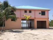 New Construction, Lagoon Front with Lots of Living Space and Character
