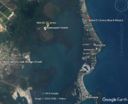 25 Acre Lot on Champagne Island in the Placencia Lagoon