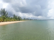 Remote Beach property Island feel