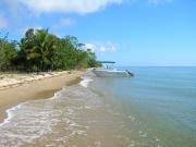 Pristine beach, private setting