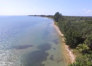 5 Acres of beachfront with jungle in Monkey River