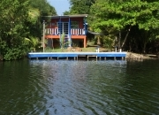 3 Bedroom 2 Bathroom Newly Remodeled House  on Water Across from Los Porticos in Village